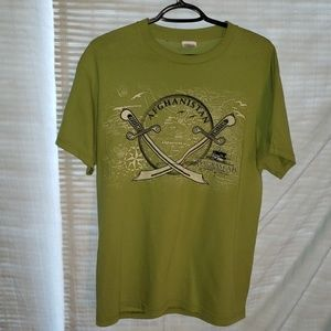 Men's Afghanistan graphic t shirt size M